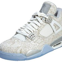 Jordan Men 4 Retro Laser (white / silver)