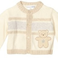 Vitamins Baby-Boys Newborn Bear Cardigan Sweater