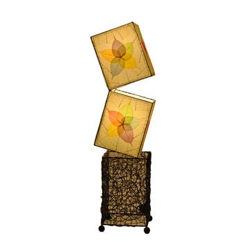 Cube Large Floor Lamp Multi Wrought Iron