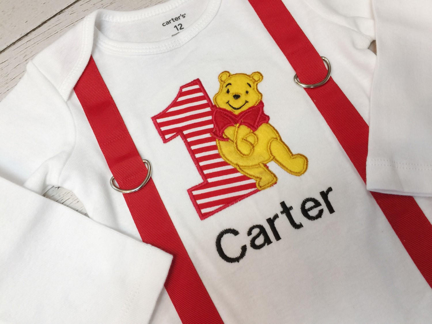 9aacfeab0067 Winnie the Pooh 1st Birthday Outfit-Baby from Better Than Bows