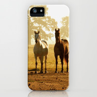 horses iPhone & iPod Case by NatalieLynn