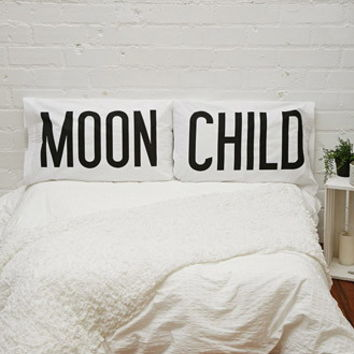 Gypsy Warrior Moon Child Pillowcase Set