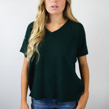 Newbie Short Sleeve Sweater