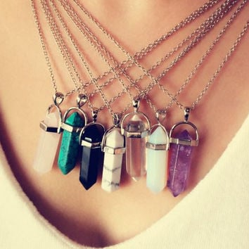 Ramona Quartz Necklace