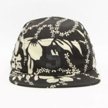 Stussy Deluxe, Aloha Camp Cap - Black - Stussy Deluxe - MOOSE Limited