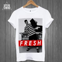 Mens swag hipster T-SHIRT new FRESH prince will smith OFWGKTA womens homies dope dubstep