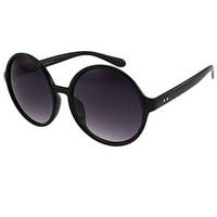 The Jensen Sunglasses in Black