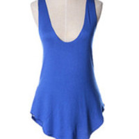 Royal Blue Camisole Tank Top