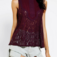 Urban Outfitters - Kimchi Blue Victorian Lace Tank Top