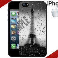 iPhone Case  Rainy Eiffel Tower   iPhone 4 or by CrazianDesigns