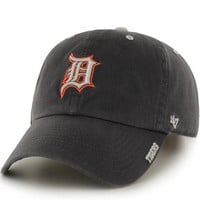 MLB Detroit Tigers Ice Charcoal Adjustable Hat
