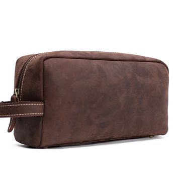 BLUESEBE MEN HANDMADE VINTAGE LEATHER CLUTCH/TRAVEL WALLET 2025