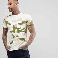 G-Star Stalt Camo T-Shirt Large Pocket at asos.com