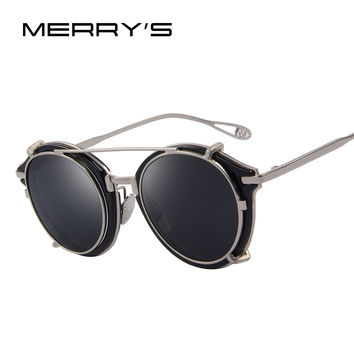 Flippy Steampunk Aviator Sunnies