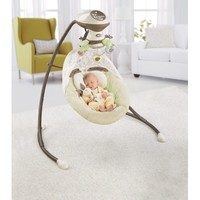 Fisher-Price My Little Snugabunny Cradle 'n Swing - Walmart.com