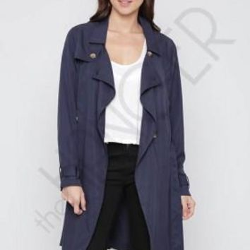 Long Line Trench Coat