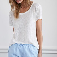 Dotted Cotton PJ Shorts