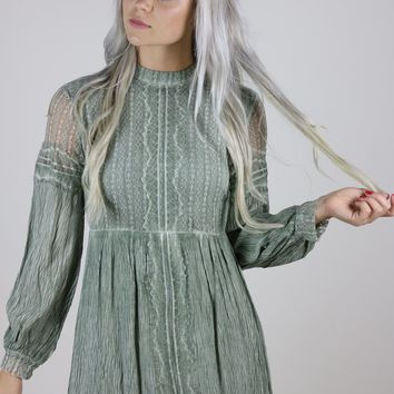 Daphne Sage Dress