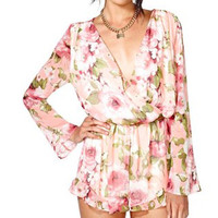 floral romper from paper hearts