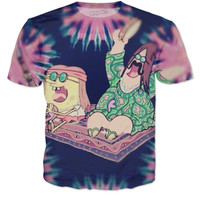 SpongeBob And Patrick Hippie