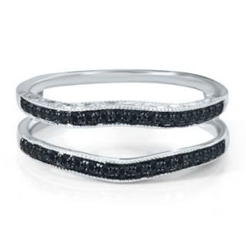 1/4 ct. tw. Black Diamond Ring Enhancer in 14K Gold - Wraps & Guards - Wedding Bands - Engagement & Wedding - Helzberg Diamonds