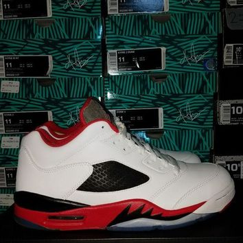 ONETOW AIR JORDAN 5 LOW 'FIRE RED' SIZE 7-11