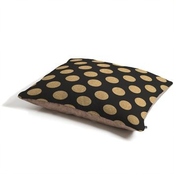 Allyson Johnson Glittering Gold Pet Bed