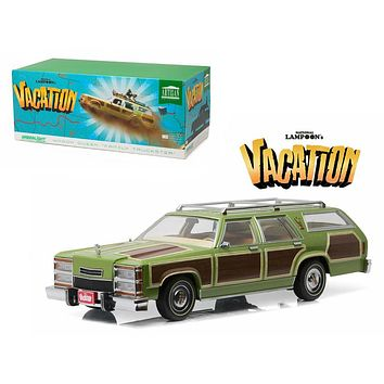 "1979 Family Truckster Wagon Queen \National Lampoon\'s Vacation"" (1983) Movie 1/18 Diecast Model Car by Greenlight"""