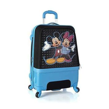 Heys Disney Clubhouse 26 Inch Hybrid Luggage Case