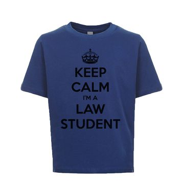 Keep Calm I'm A Law Student Unisex Kid's Tee