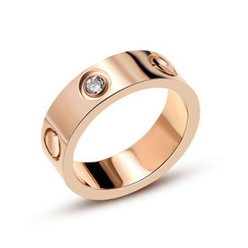 "Titanium steel couples  love ring ""carter"" perfect match for the love of your life"