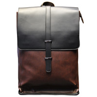 Handmade Leather Backpack Travel Bag Laptop Bag School Bookbag for Men Women