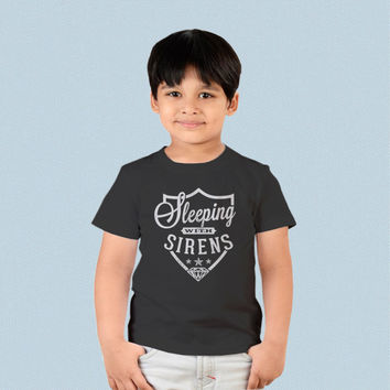 Kids T-shirt - Sleeping with Sirens Logo