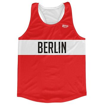 Berlin City Finish Line Running Tank Top Racerback Track and Cross Country Singlet Jersey