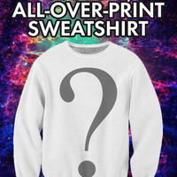 Custom, All-Over-Print Crewneck Sweatshirt