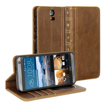 Book Case Vintage for HTC One E9 Plus