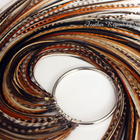 Long Natural Feather Extensions Hair Feathers by featherswholesale