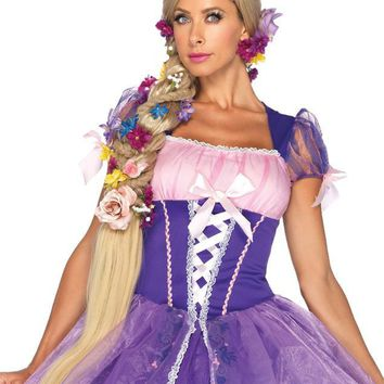 Rapunzel Wig Adult Blonde Beautiful Costume