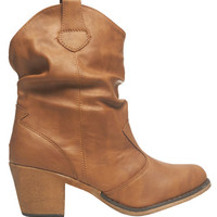 Short Slouched Boot | Wet Seal
