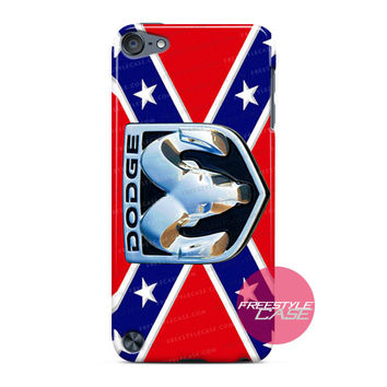 Rebel Flag with Dodge Ram Logo  iPod Case Cover Series