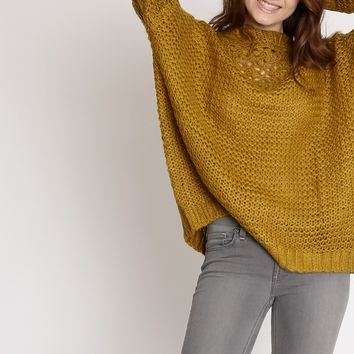 Providence Oversized Knit Sweater | Ruche