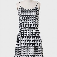 Art Collector Printed Dress