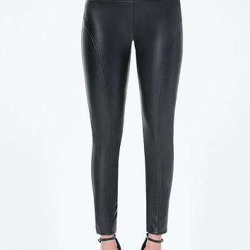 Faux Leather High Leggings | bebe
