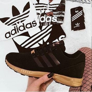 adidas zx flux fashion women running sport casual shoes sneakers-1