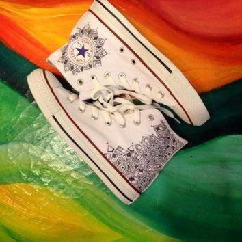 DCKL9 Custom Canvas Converse Shoes