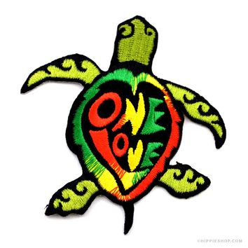 One Love Turtle Patch on Sale for $4.99 at HippieShop.com