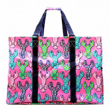 Utility Tote Extra Large - Lobster Print