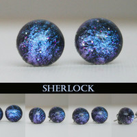 Sherlock Holmes Inspired Color Shifting Earrings