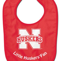 Nebraska Cornhuskers Baby Bib - All Pro Little Fan