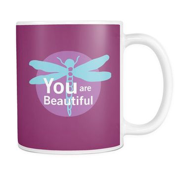 You Are Beautiful (Dragonfly) - 11oz. Mug